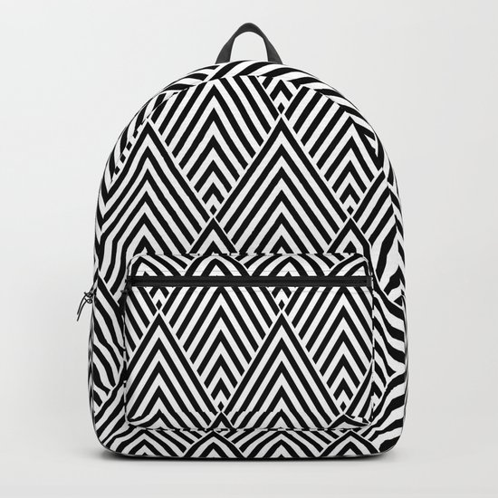 Triangles in Diamonds Backpack