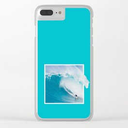 GRAPHIC SURF TRIP Clear iPhone Case