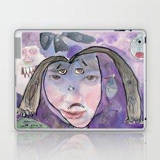 I feel scared Laptop & iPad Skin