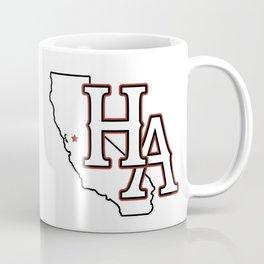 HA/CA (Red) Coffee Mug