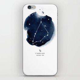 Zodiac Star Constellation - Capricorn iPhone Skin