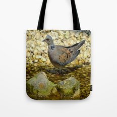 European Turtle Dove (Streptopelia turtur) Tote Bag