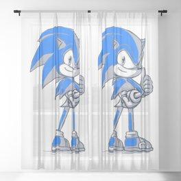 Sonic Good  Sheer Curtain