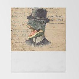 Dino Dandy Throw Blanket