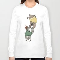 grease Long Sleeve T-shirts featuring Grease chicks by Ilse Busschers