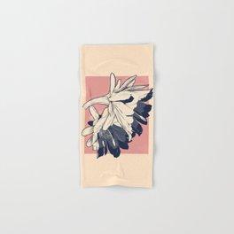 Cactus flower halftone Hand & Bath Towel