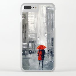 Together in new York Clear iPhone Case
