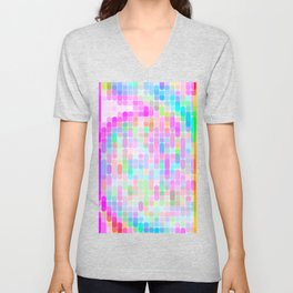 Re-Created Cypher 8.0 by Robert S. Lee Unisex V-Neck