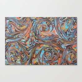 Crowded Colors Canvas Print