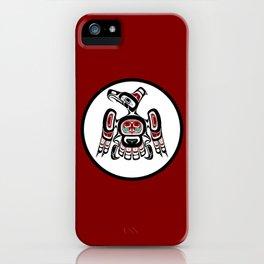 Northwest Pacific coast Kaigani Thunderbird iPhone Case