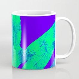 Blue Ultraviolet Green Earth Day Fern Coffee Mug