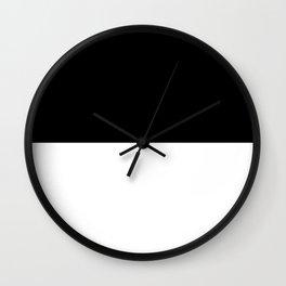 BLACK-WHITE Wall Clock