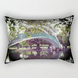 River bridge Rectangular Pillow