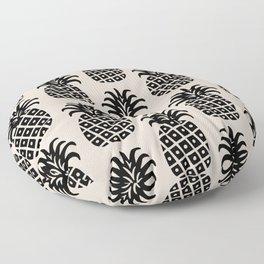 Retro Mid Century Modern Pineapple Pattern 545 Floor Pillow