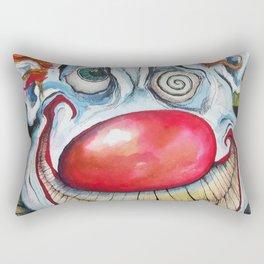 RAINBOW DEATH CLOWN Rectangular Pillow