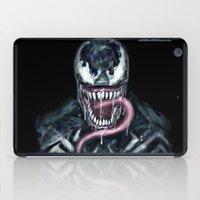venom iPad Cases featuring Venom by dariiy