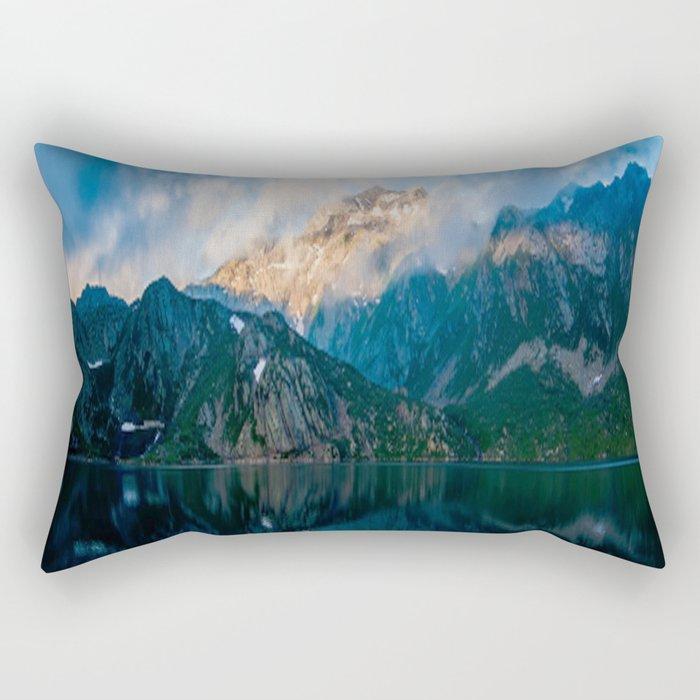 Reflected Rectangular Pillow