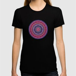Colorful Agate Mandala T-shirt