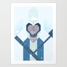 Connor / Assassins Creed Art Print