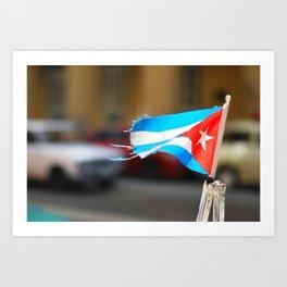 138. Bye Bye Havana, Cuba Art Print