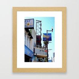 TOWER or sale f Framed Art Print