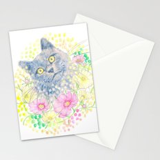 Dreamy Chartreux Cat Stationery Cards