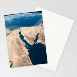The Nile and the Sinai, to Israel and beyond. One sweeping glance of human history Stationery Cards