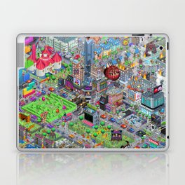 Videogame City V2.0 Laptop & iPad Skin