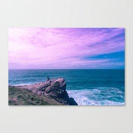 Fistral Beach - Cornwall, England Pt.II Canvas Print