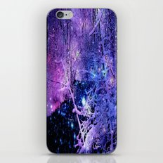 Cosmic River Galaxy Forest iPhone & iPod Skin