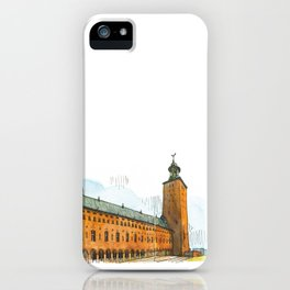 Stockholm Town Hall iPhone Case