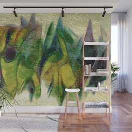 Abstract fall colors Wall Mural