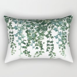 Ivy Watercolor Rectangular Pillow