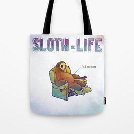 SLOTH LIFE fig. 9. Tote Bag