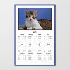 Cat Calendar 2013 Canvas Print