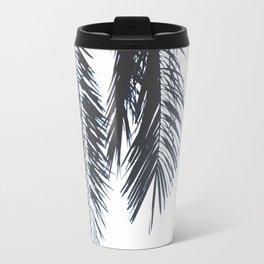 Palm Tree leaves abstract Travel Mug