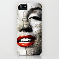 Marilyn Monroe - Wall painting Slim Case iPhone (5, 5s)