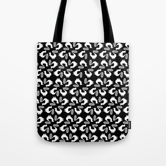 Snooty pattern Tote Bag