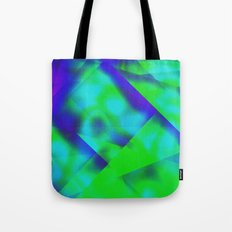 Green Color Package Tote Bag