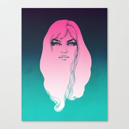 Pink Face Canvas Print