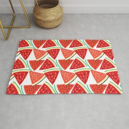Sliced Watermelon Rug