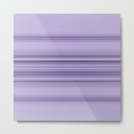 Pantone Purple Stripe Design Metal Print