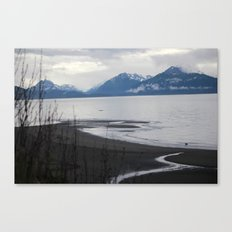 Solitude :: A Lone Kayaker Canvas Print