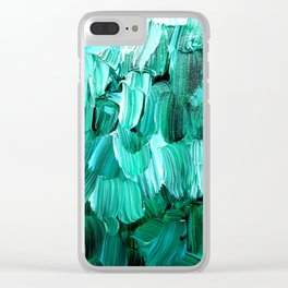 Under the Willow Tree Clear iPhone Case