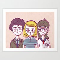 the royal tenenbaums Art Prints featuring Tenenbaums by Pilotinta