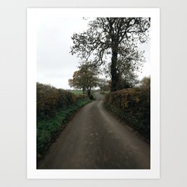 british countrylane Art Print