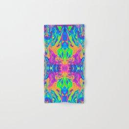 Psychedelic Spill 6 (Mirror Lab version) Hand & Bath Towel