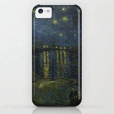 Starry Night Over the Rhone by Van Gogh iPhone 5c Slim Case