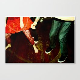 my capacity for happiness (nightlife I) Canvas Print
