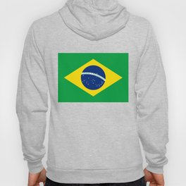 Brazilian National flag Authentic version (color & scale) Hoody
